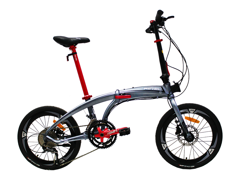 Sepeda Lipat REVEL HUGO 2x9 Speed Hollowtech