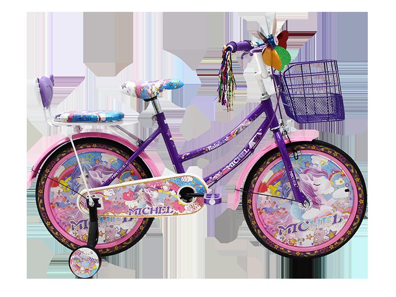 Sepeda Mini anak 18 Michel Rainbow