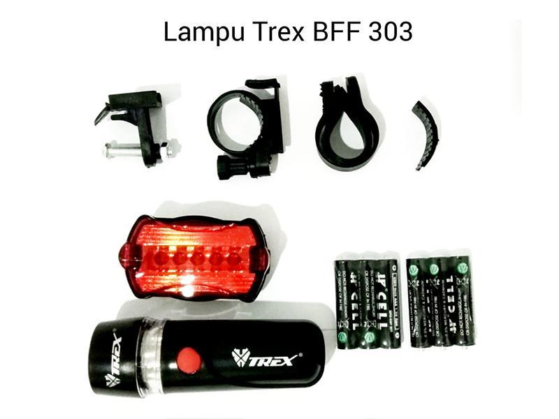 Lampu Baterai Trex BFF 303