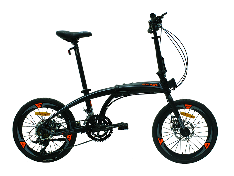 Sepeda Lipat REVEL HUGO 2x8 Speed